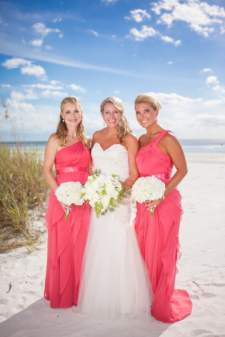 pink shell resort wedding 29