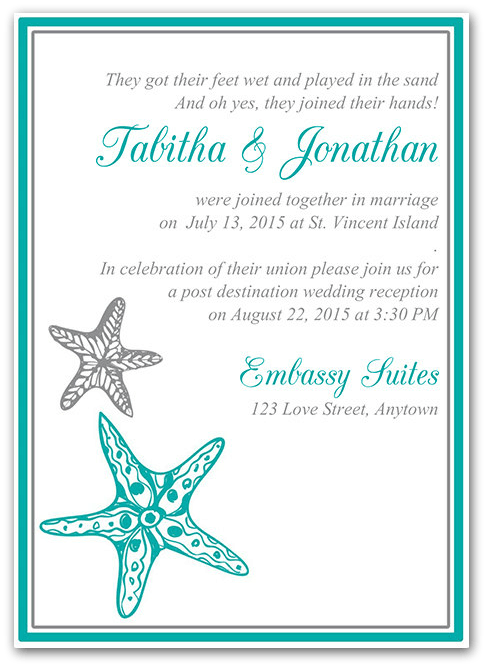 Destination wedding invitation wording etiquette and examples post destination wedding invitation wording stopboris Gallery