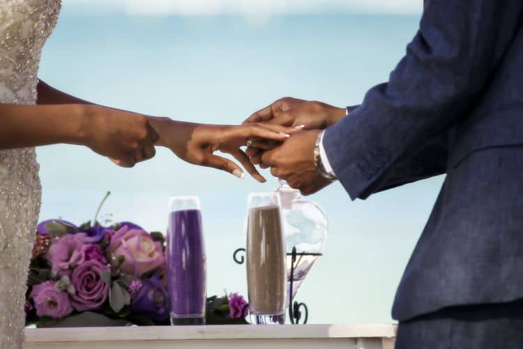 purple and gold destination wedding in Punta Cana_46