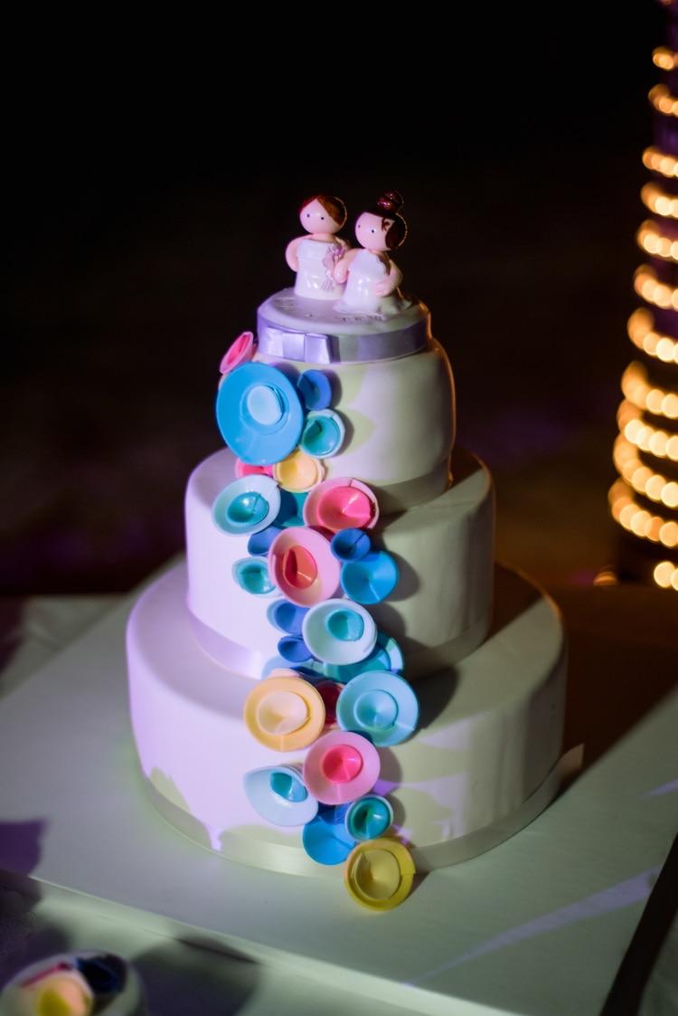 rainbow wedding 14