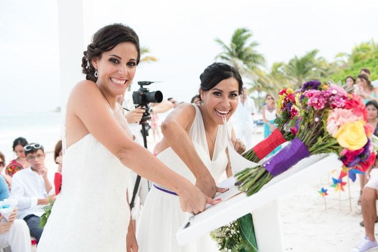 rainbow wedding 33