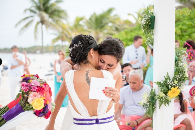 rainbow wedding 36