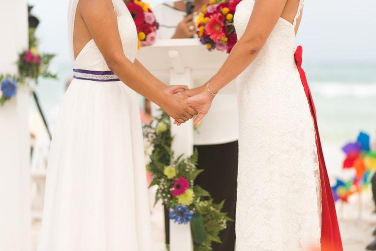 rainbow wedding 42