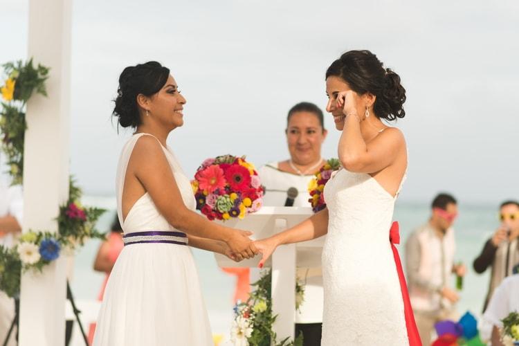 rainbow wedding 46