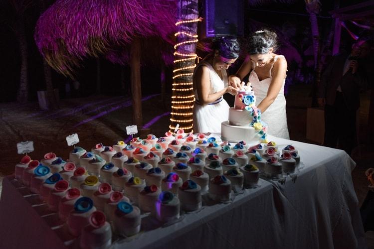 rainbow wedding 9
