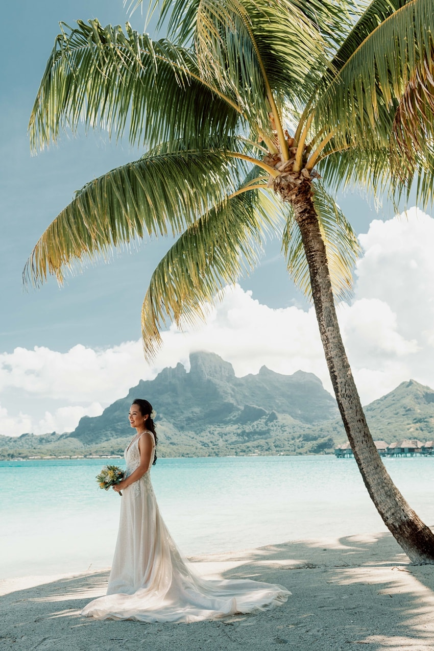 real Bora Bora destination wedding 0052