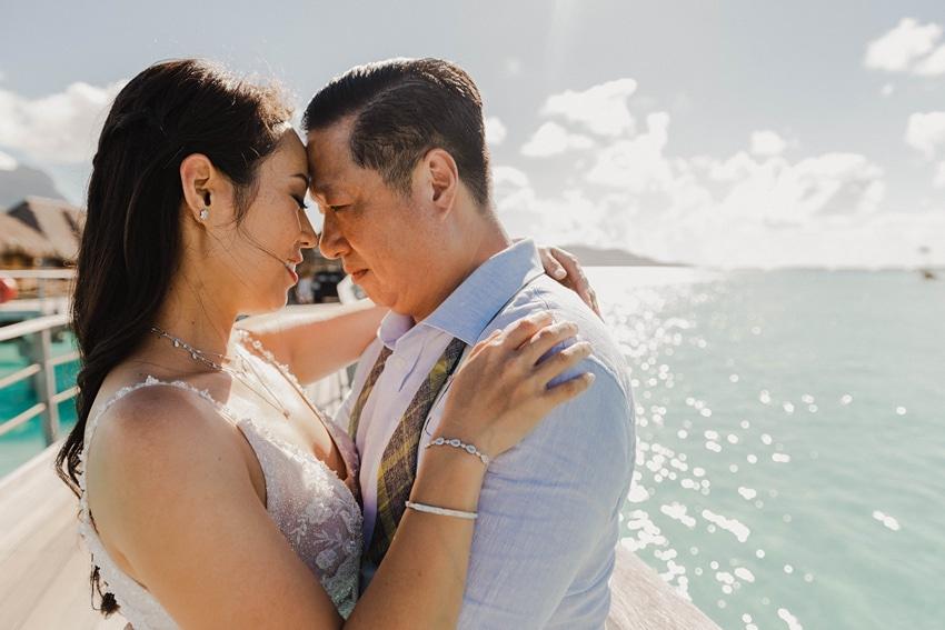real Bora Bora destination wedding 0069