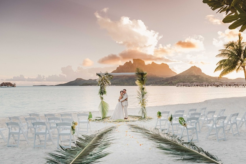 real Bora Bora destination wedding 0104