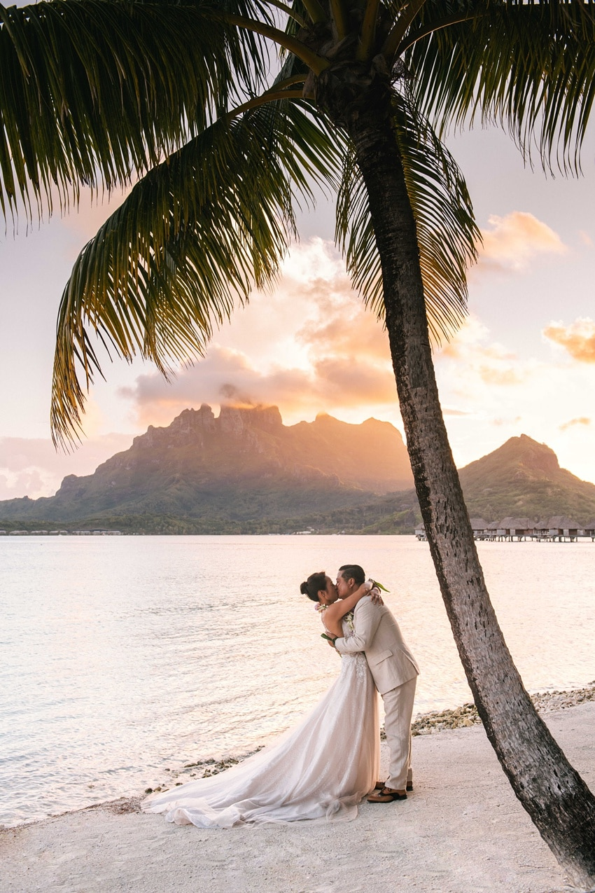 real Bora Bora destination wedding 0106