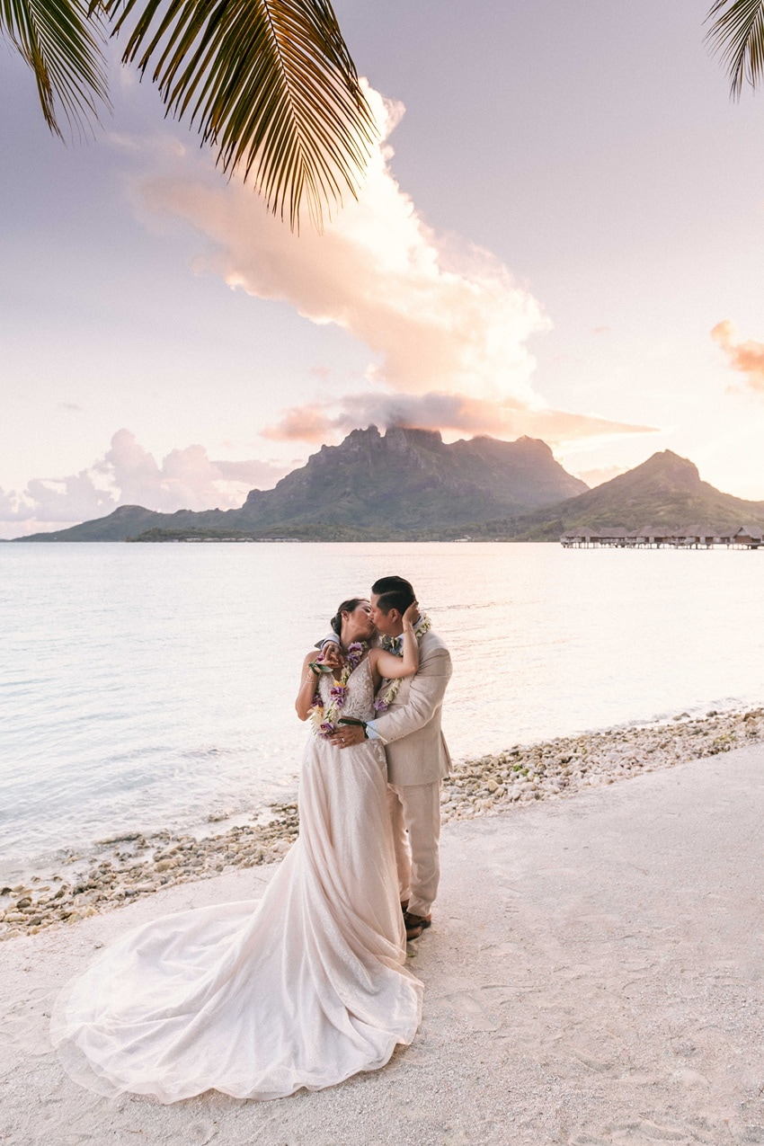 real Bora Bora destination wedding 0109