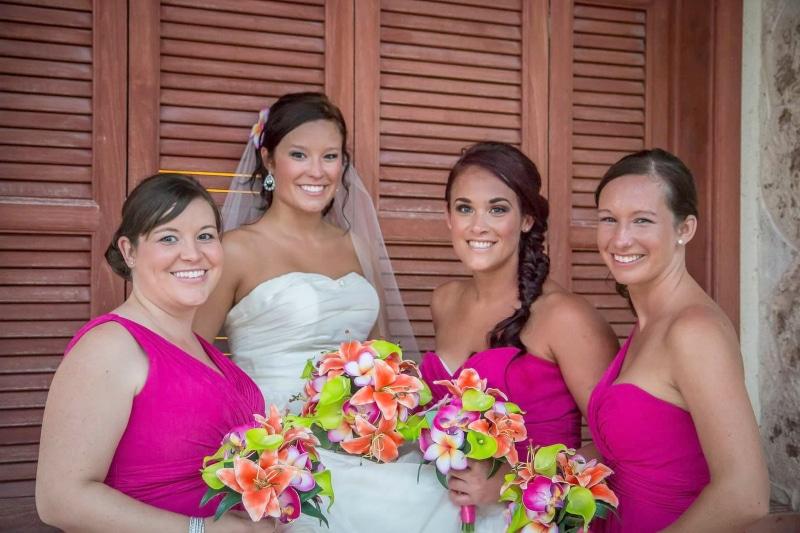 real bride artificial wedding bouquets