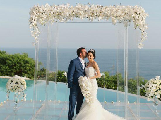 real destination wedding in Bali featured