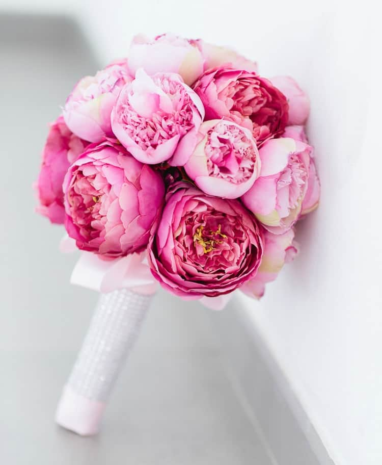 real touch wedding bouquet