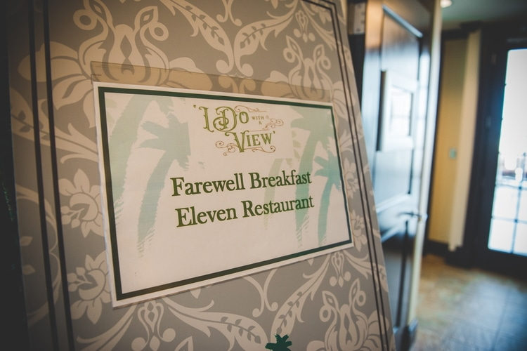 reunion resort wedding farewell brunch 20