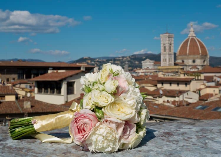 Florence wedding bouquet