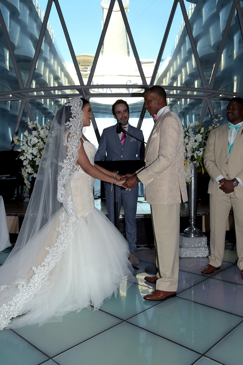 royal caribbean wedding cruise 1757