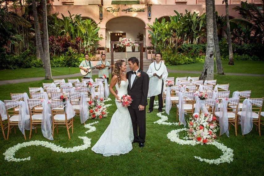 royal hawaiian hotel wedding