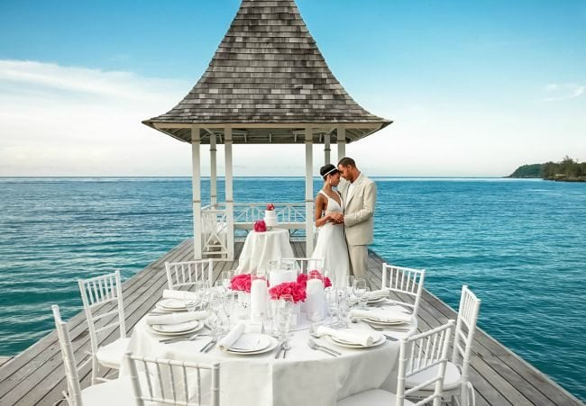 sandals jamaica weddings