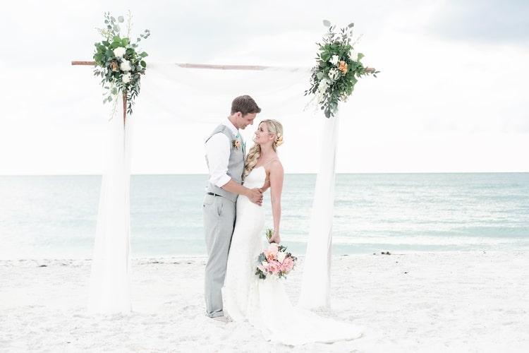 siesta key beach wedding 14
