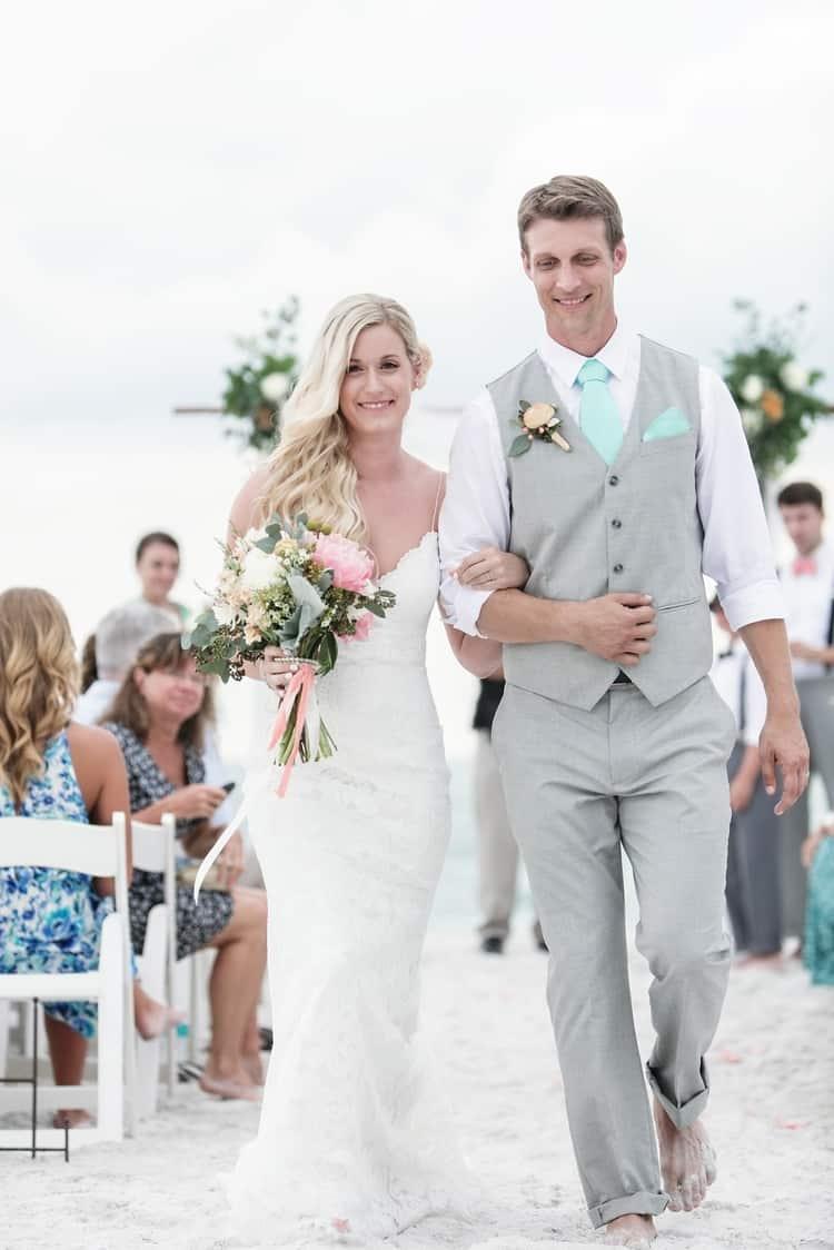 siesta key beach wedding 16