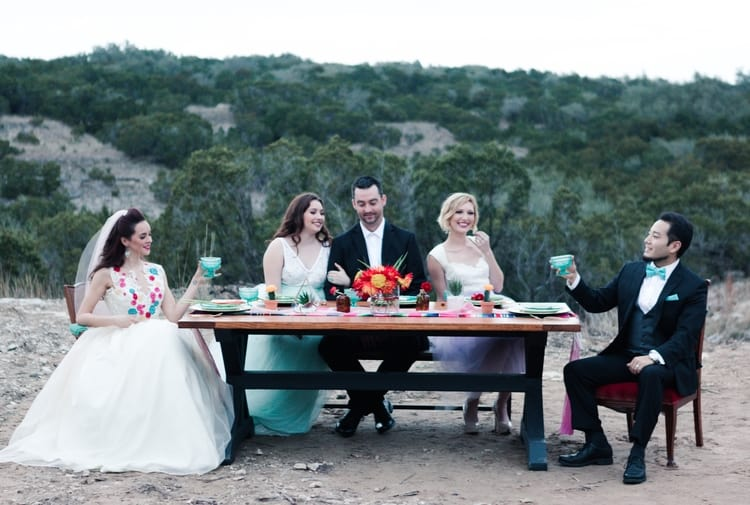 south of the border wedding inspiration 35
