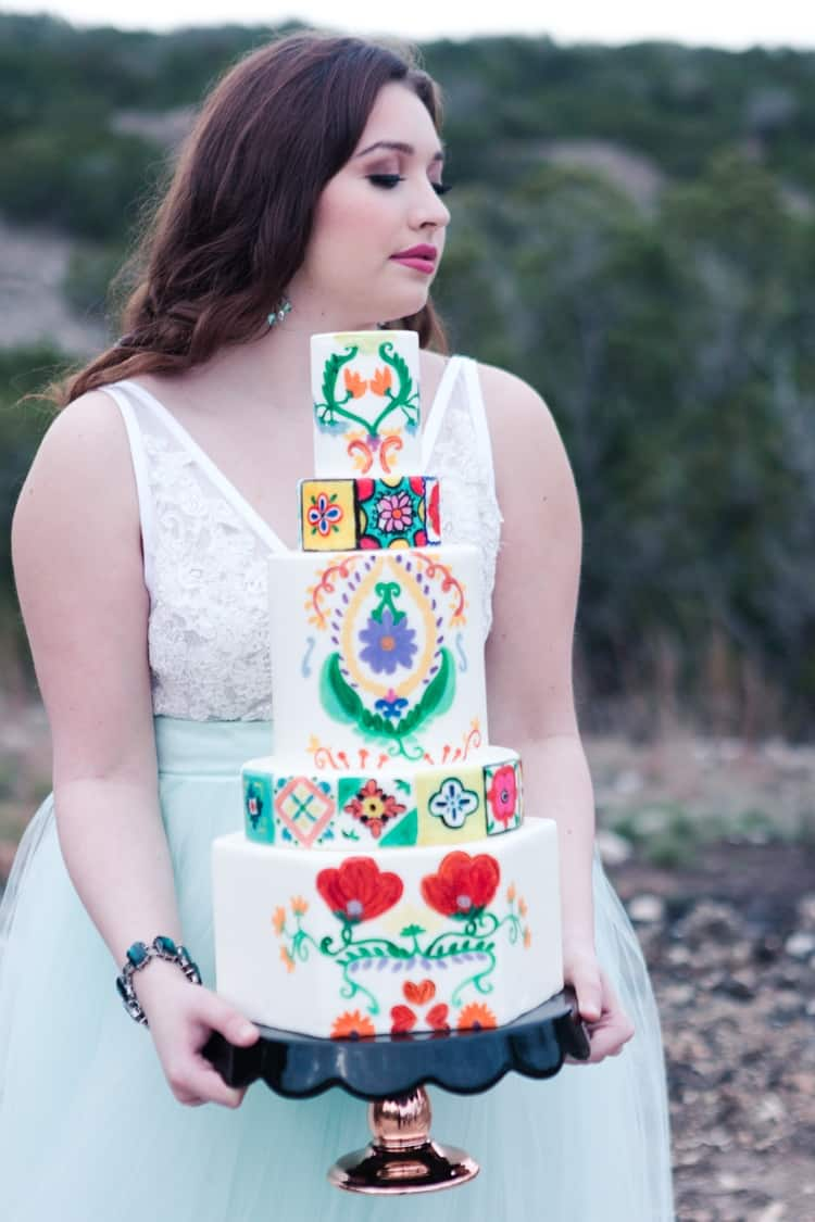 south of the border wedding inspiration 48