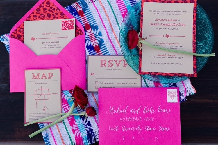 south of the border wedding inspiration 52