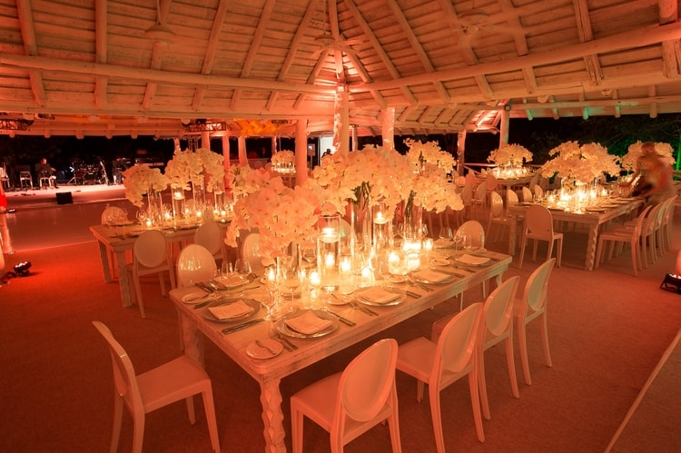 sunset beach wedding at banyan tree mayakoba 122