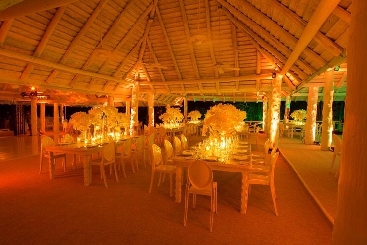 sunset beach wedding at banyan tree mayakoba 123
