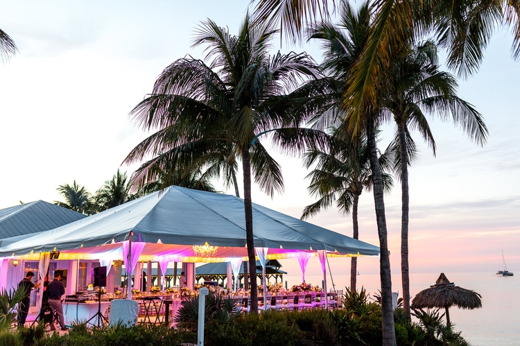 sunset key Wedding  13