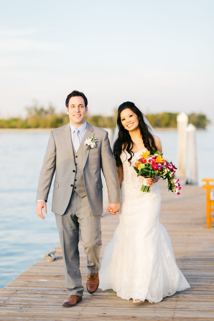 sunset key Wedding  22