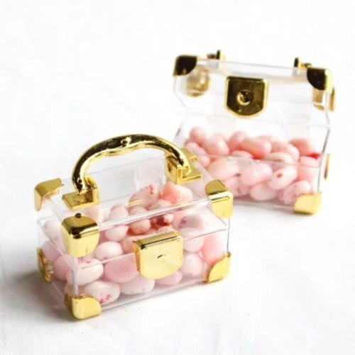 travel wedding favors suitcase candy holder
