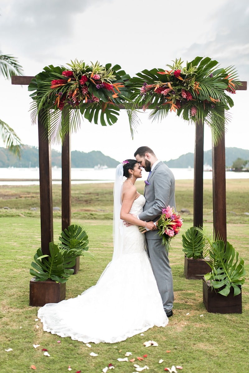 tropical destination wedding Costa Rica 1884