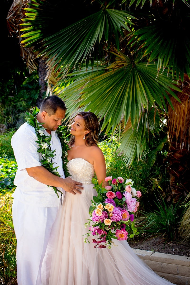 tropical theme wedding 0011