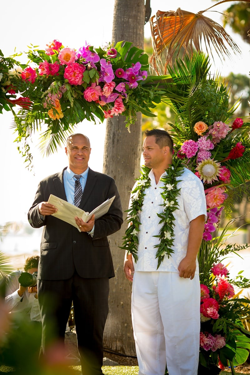 tropical theme wedding 0018