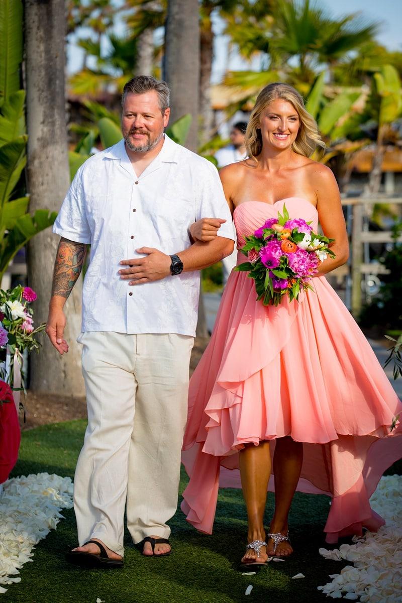 tropical theme wedding 0019