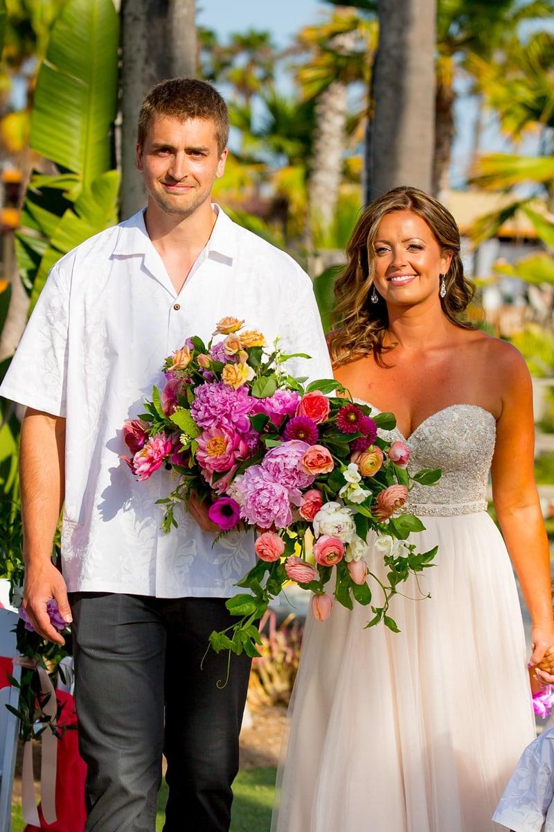 tropical theme wedding 0022
