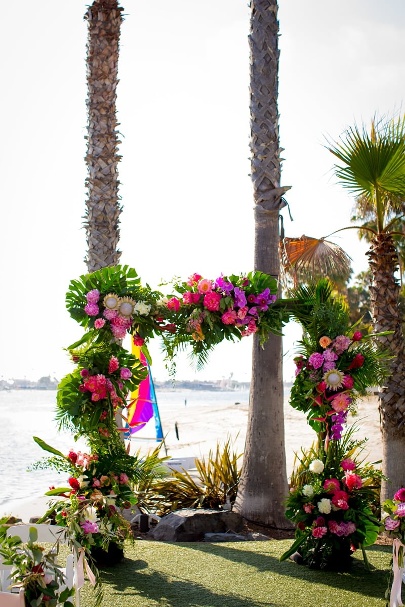 tropical theme wedding 0057