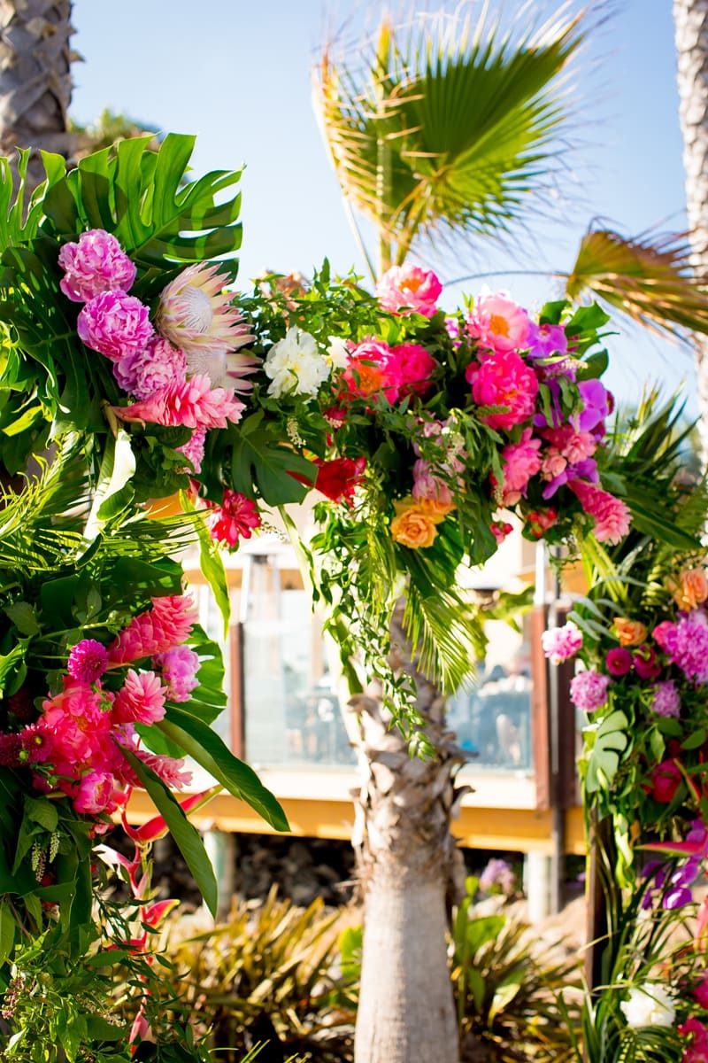 tropical theme wedding 0061