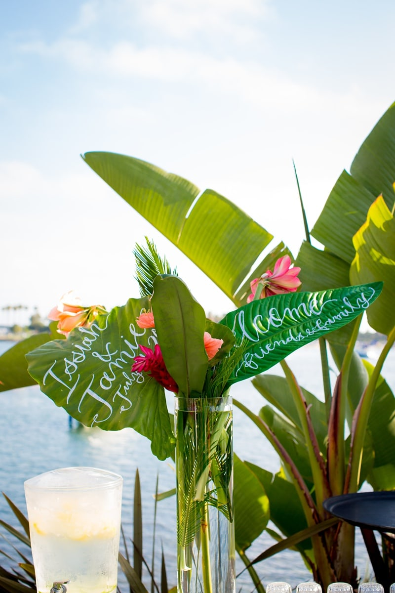 tropical theme wedding 0062