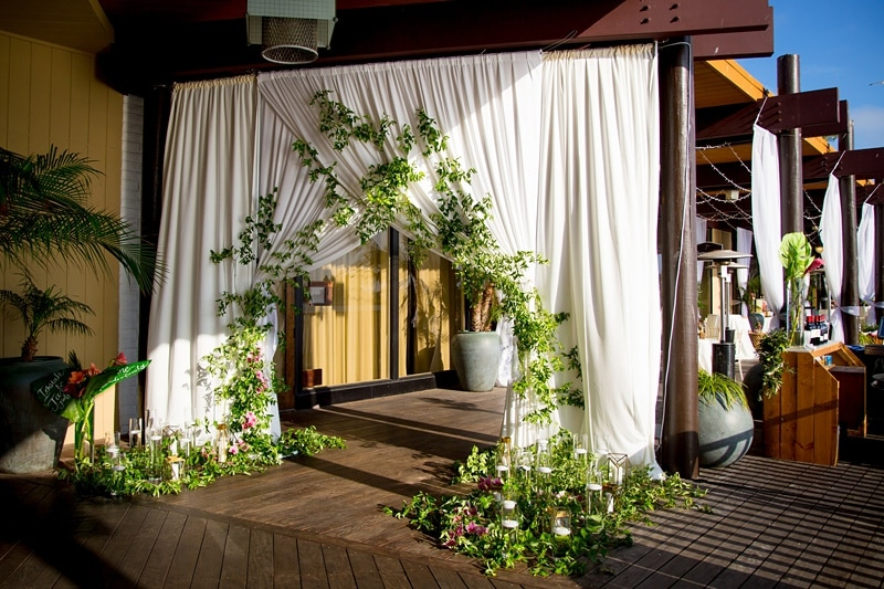 tropical theme wedding 0066