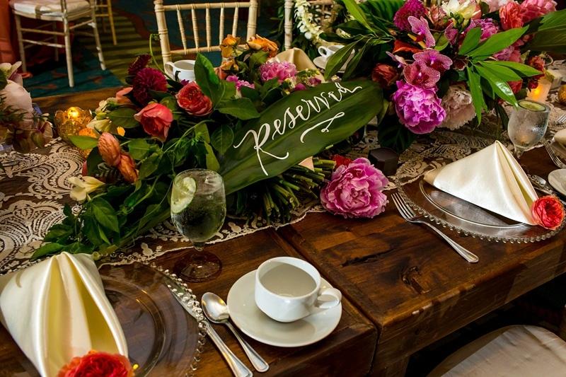 tropical theme wedding 0085