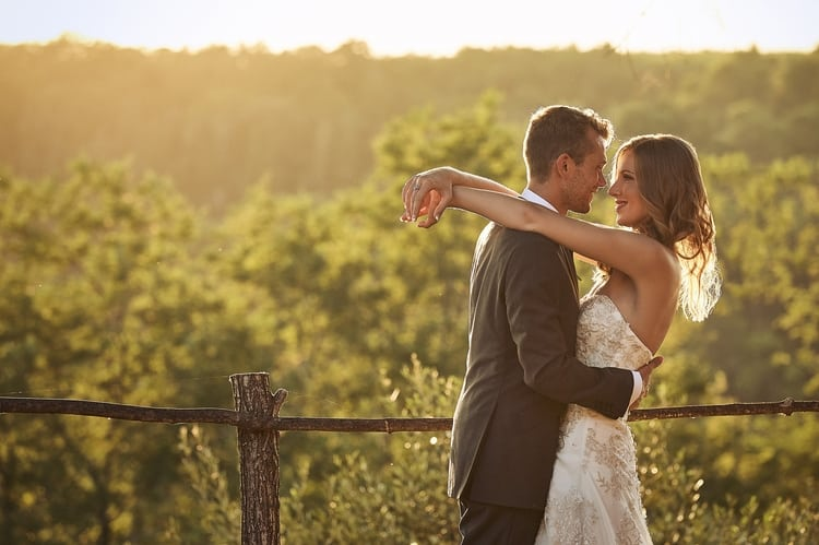 Romantic Tuscany Wedding in Borgo Petrognano