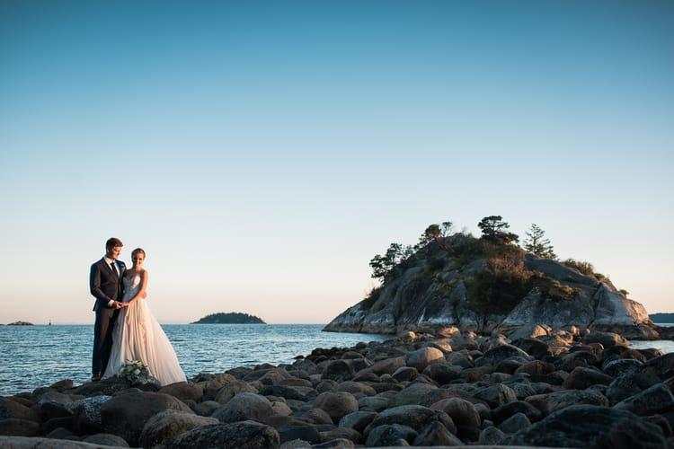 Twilight Beach Wedding