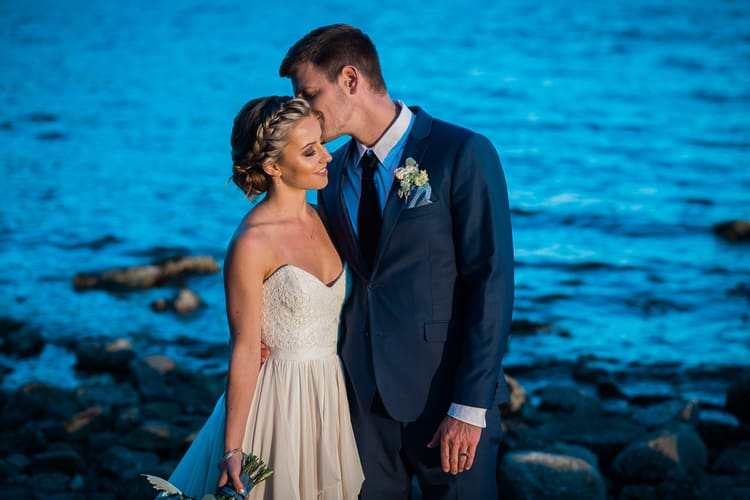 Sunset and Twilight Beach Wedding Inspiration