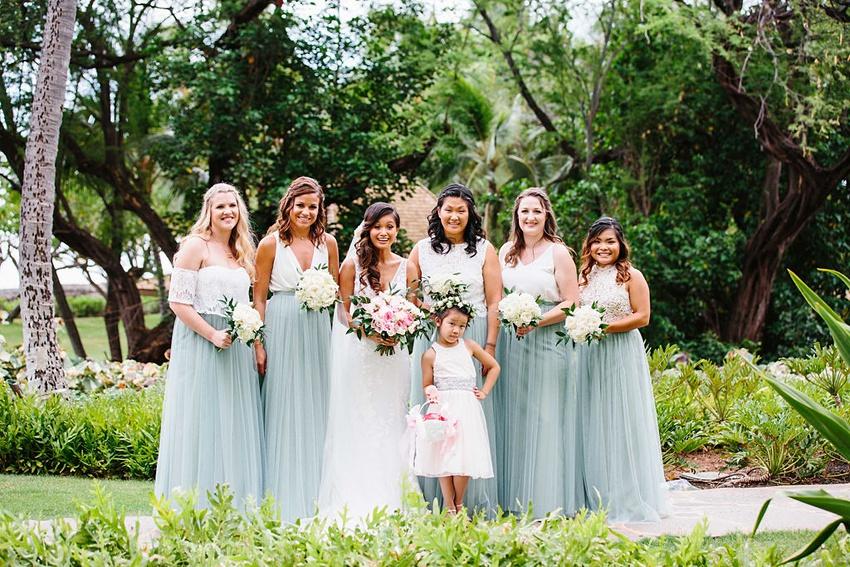 two piece beach bridesmaid dresses