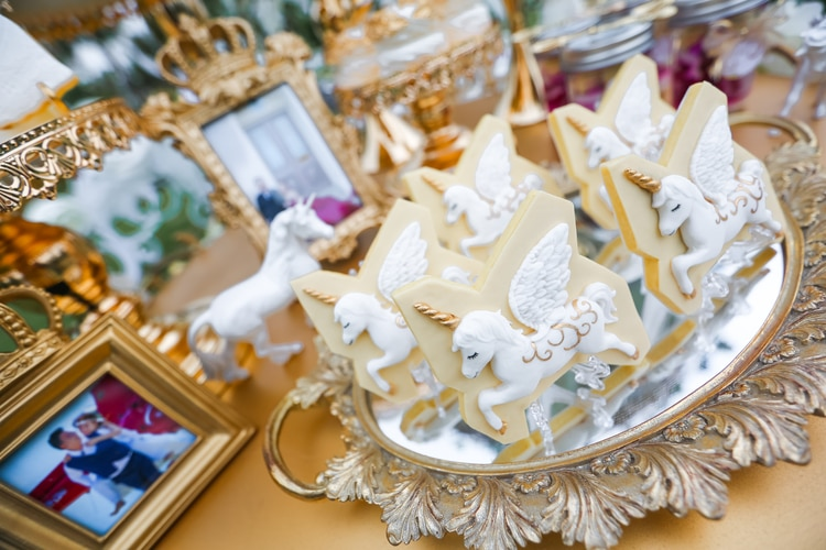 unicorn themed wedding 20