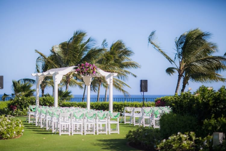 Destination Wedding at the Grand Hyatt Kauai