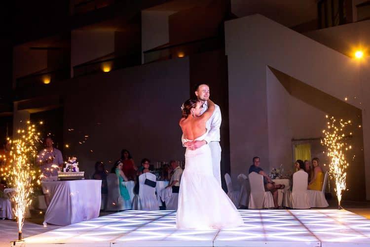 destination wedding at the Live Aqua