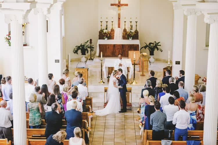 real wedding in the Maria Lanakila Church